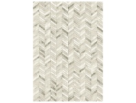 LivingStyles Eclipse Zane Belgian Made Modern Rug, 230x160cm, Cream