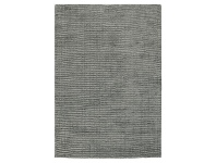LivingStyles Elements Hand Knotted Wool Rug, 250x350cm, Grey