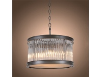 LivingStyles Glasgow Glass Ring Pendant Light