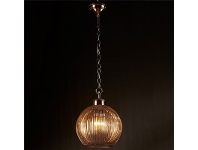 LivingStyles Concorde Glass Pendant Light, Small