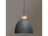 LivingStyles Queenspark Metal Pendant Light
