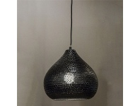 LivingStyles Jardin Moroccan Metal Onion Shade Pendant Light