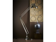 LivingStyles Mercury Industrial Metal Floor Lamp