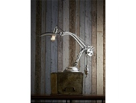 LivingStyles Bismarck Metal Table Lamp