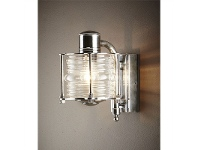 LivingStyles Yarra IP54 Indoor/Outdoor Metal Wall Sconce - Antique Silver