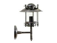 LivingStyles Turner Metal Wall Sconce - Antique Silver