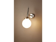 LivingStyles Paris Metal Wall Light - Silver