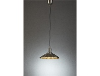 LivingStyles Baltic Small Metal Pendant Light - Antique Silver
