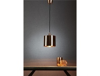 LivingStyles Portofino Metal Pendant Light, Copper