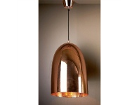LivingStyles Washington Metal Pendant Light, Copper