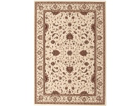 LivingStyles Empire Classic Turkish Made Oriental Rug, 230x160cm, Cream