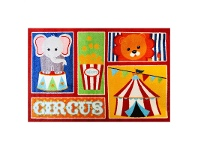 LivingStyles Essna Circus Egyptian Made 133x200cm Kids Rug