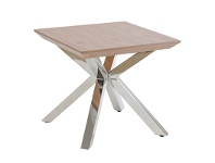 LivingStyles Nordic Square Side Table