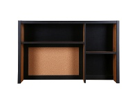 LivingStyles Henri Timber Study Desk Hutch