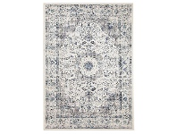 LivingStyles Evoke Mist Turkish Made Oriental Rug, 330x240cm, White