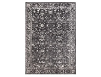 LivingStyles Evoke Estella Turkish Made Oriental Rug, 330x240cm, Charcoal