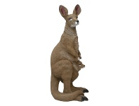 LivingStyles Majestic Kangaroo Polyresin Figurine Decor