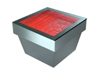 LivingStyles Bubbling Side Table - 42cm