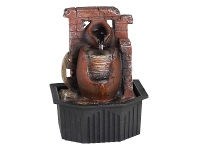 LivingStyles Water Urn Fountain - 18cm