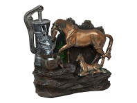 LivingStyles Horse Tap Water Fountain -40cm