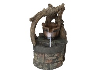 LivingStyles Water Well Fountain - 55cm