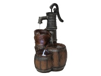 LivingStyles Barrel Pump Fountain - 60cm