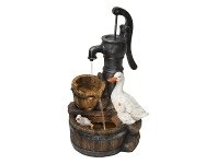 LivingStyles Duck and Water Pump Fountain