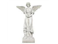 LivingStyles Angel Fibre Clay Figurine