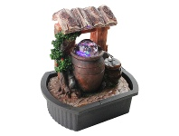 LivingStyles Water Hut Fountain - 25cm