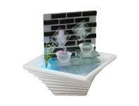 LivingStyles Double Dribble Water Fountain