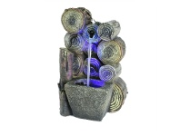 LivingStyles Firewood Fountain - 35cm