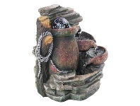 LivingStyles Pots on Slate Fountain - 20cm