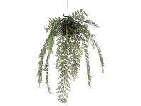 LivingStyles Artificial Hanging Fern