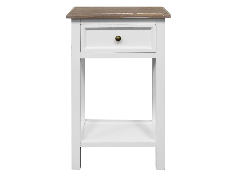 Couville 2 Tone Bedside Table