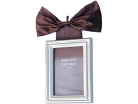 LivingStyles Bow Small Photo Frame