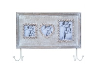 LivingStyles Photo Frame with 2 Hooks