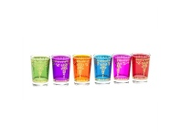 LivingStyles Set 6 Moroccan Glasses