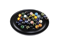 Venetian Solitaire Glass Marble Game