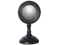 LivingStyles Authentic Models Classic Eye Convex Table Mirror, Small