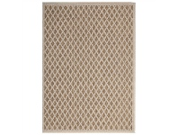 LivingStyles Natura Evita Egyptian Made Indoor/Outdoor Rug, 120x170cm, Natural