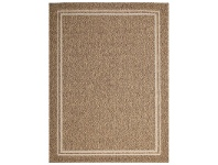 LivingStyles Natura Blaze Egyptian Made Sisal Indoor/Outdoor Rug, 200x290cm, Natural