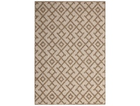 LivingStyles Natura Hakina Egyptian Made Indoor/Outdoor Rug, 80x150cm, Natural