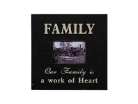 LivingStyles Rustic Style Family Photo Frame