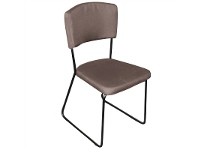 LivingStyles Arezzo Fabric Dining Chair, Brown