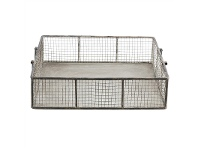 LivingStyles Tomalla Square Iron Mesh Tray