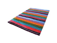 LivingStyles Holister Striped 200x290cm Turkish Made Shaggy Rug