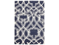LivingStyles Narris Gothic Tribal Hand Tufted Rug in Slate - 320x230cm