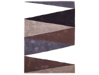 LivingStyles Narris Cascade Hand Tufted Rug in Neutral Tone - 225x155cm