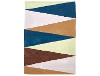 LivingStyles Narris Cascade Hand Tufted Rug in Cool Tone - 165x115cm