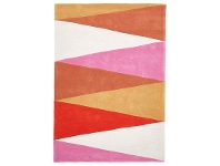 LivingStyles Narris Cascade Hand Tufted Rug in Warm Tone - 225x155cm